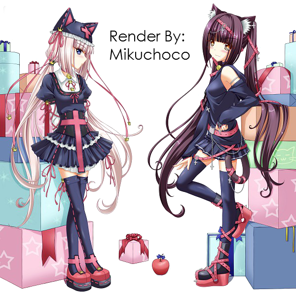 Chocolo and Vanilla