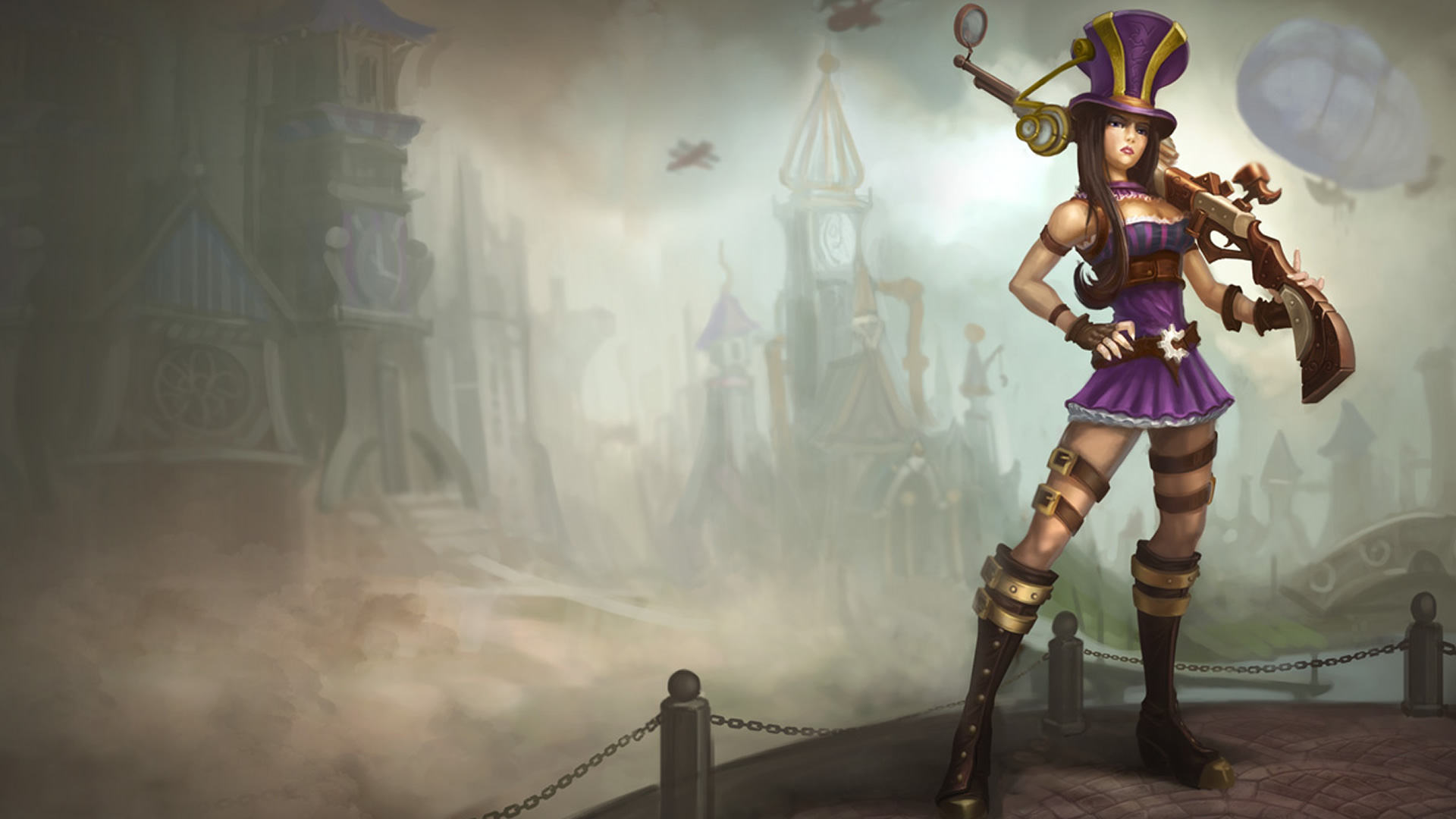 Caitlyn figure lol